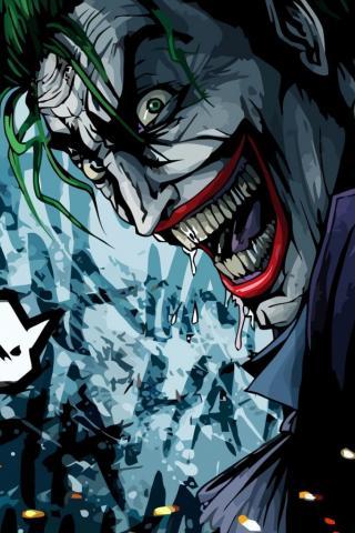 Классные и прикольные картинки на телефон Джокер - сборка 3