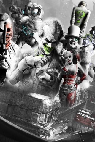 Классные и прикольные картинки на телефон Джокер - сборка 5