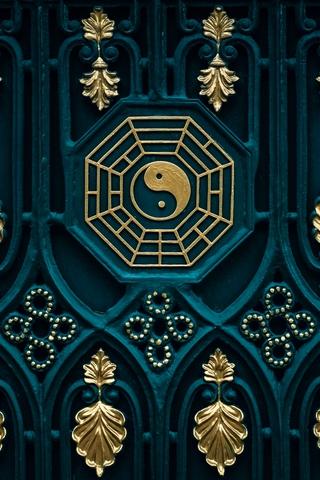 Красивые и необычные картинки на телефон Инь Янь - подборка 3