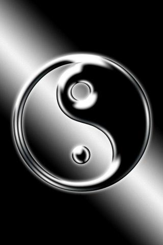 Красивые и необычные картинки на телефон Инь Янь - подборка 7