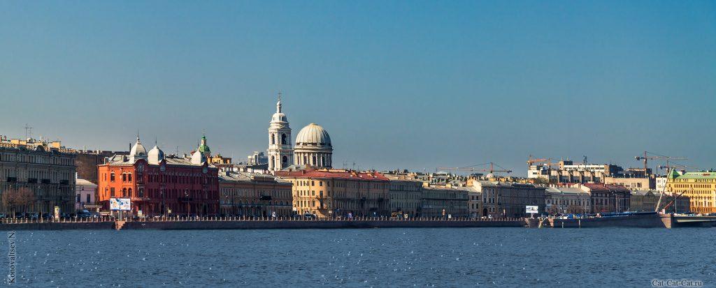 Красивые и необычные панорамные фотографии Санкт-Петербурга 10