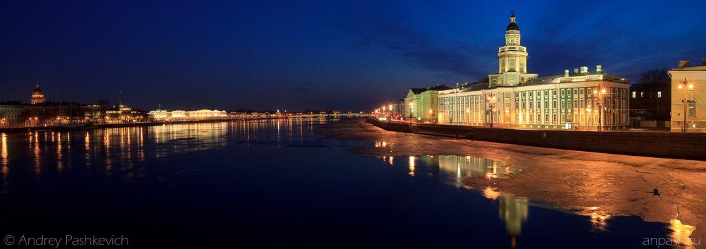 Красивые и необычные панорамные фотографии Санкт-Петербурга 13