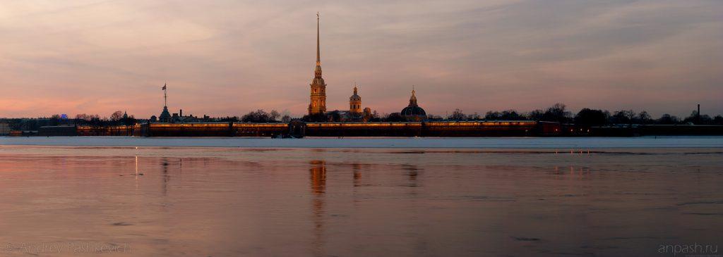 Красивые и необычные панорамные фотографии Санкт-Петербурга 14
