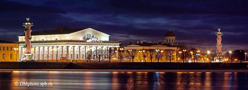 Красивые и необычные панорамные фотографии Санкт-Петербурга 3