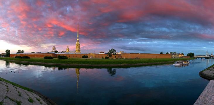 Красивые и необычные панорамные фотографии Санкт-Петербурга 5