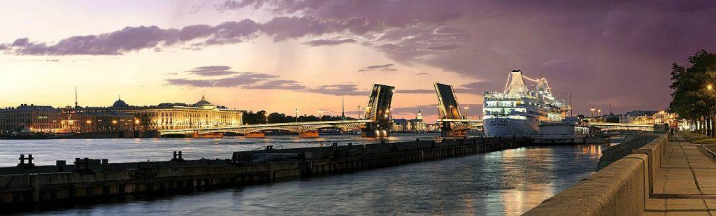 Красивые и необычные панорамные фотографии Санкт-Петербурга 6