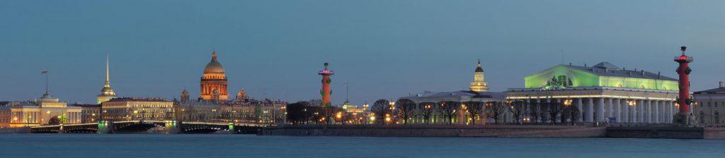 Красивые и необычные панорамные фотографии Санкт-Петербурга 9