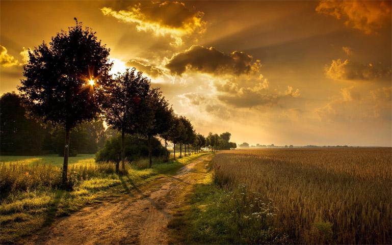 Красивые и удивительные картинки, фото Восход Солнца - подборка 13