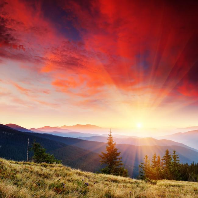 Красивые и удивительные картинки, фото Восход Солнца - подборка 6