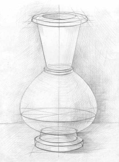 Красивые картинки вазы с цветами и без для срисовки - подборка 4