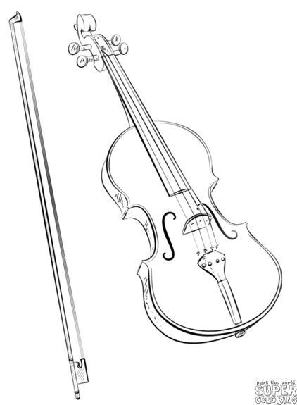 Красивые, прикольные картинки для срисовки Музыка - подборка 7