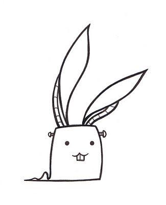Лучшие картинки для срисовки зайчика, заяц - подборка рисунков 9