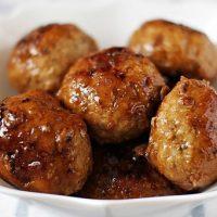 Мясные фрикадельки с яблоком и рецепт их приготовления 1