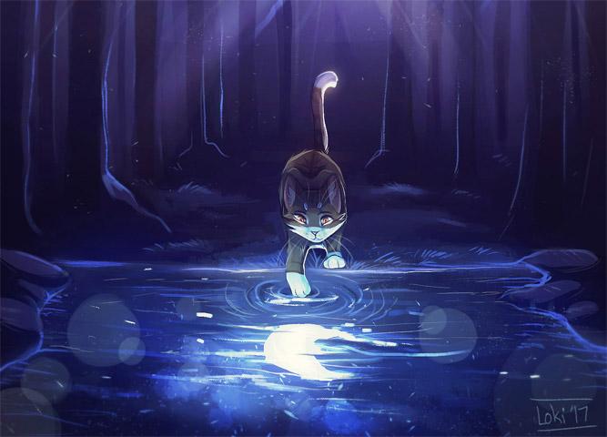 Необычные и красивые картинки Коты Воители - подборка 20 штук 8