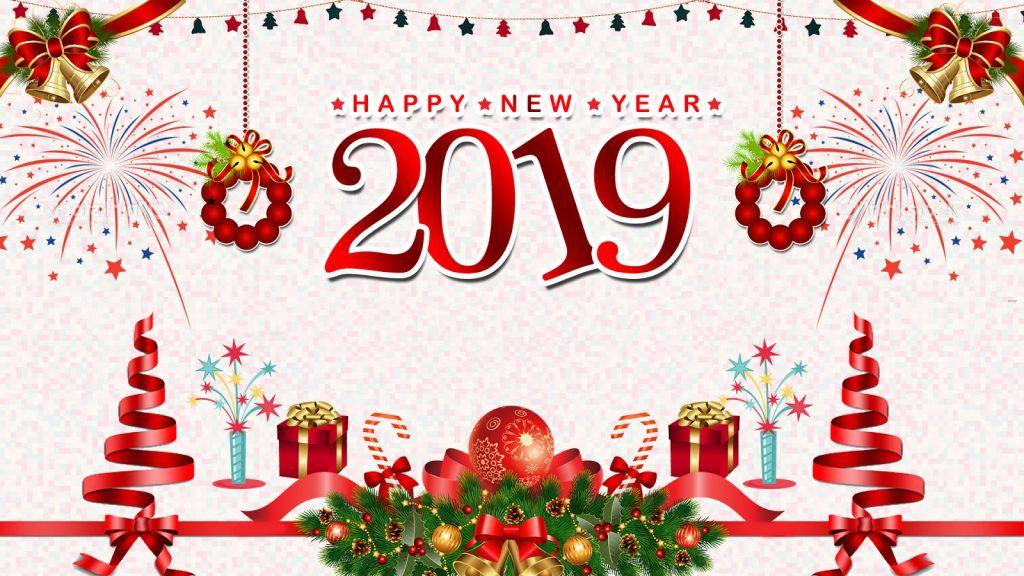 Новый год 2019 - прикольные и красивые обои для рабочего стола 3