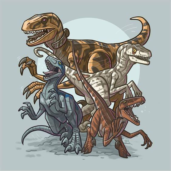 Очень красивые картинки динозавров для срисовки - подборка 11