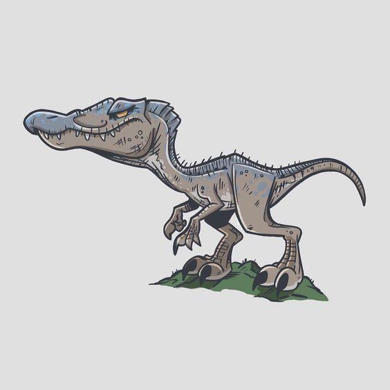 Очень красивые картинки динозавров для срисовки - подборка 13