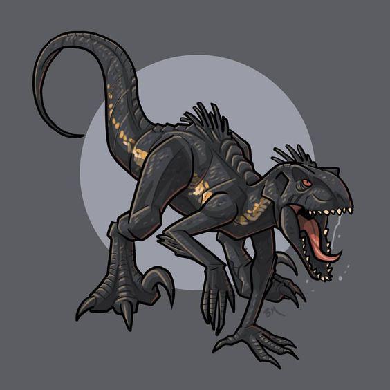 Очень красивые картинки динозавров для срисовки - подборка 21