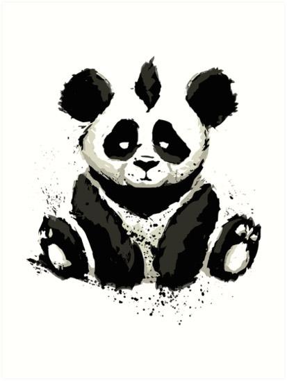 Панды очень красивые и прикольные картинки, арты, фото - подборка 19