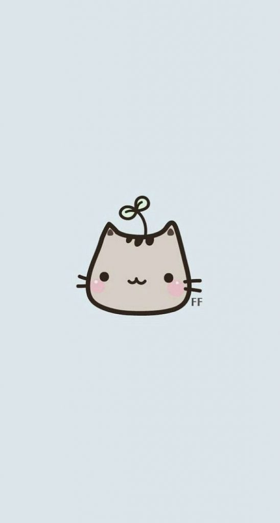 Прикольные и отличные простые картинки для срисовки Коты 8