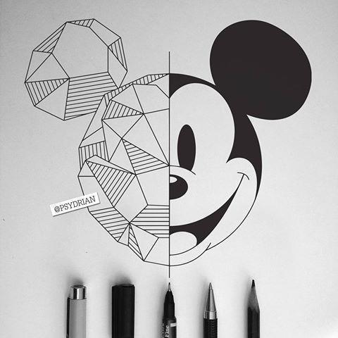 Простые и современные рисунки для срисовки - очень красивые 1