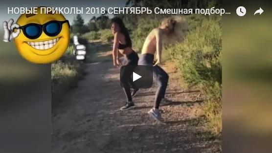 Самые ржачные видео приколы, осень 2018 год - подборка №138