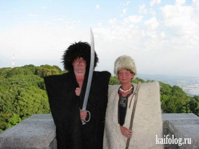 Смешные и веселые картинки про туристов и туризм - подборка 16