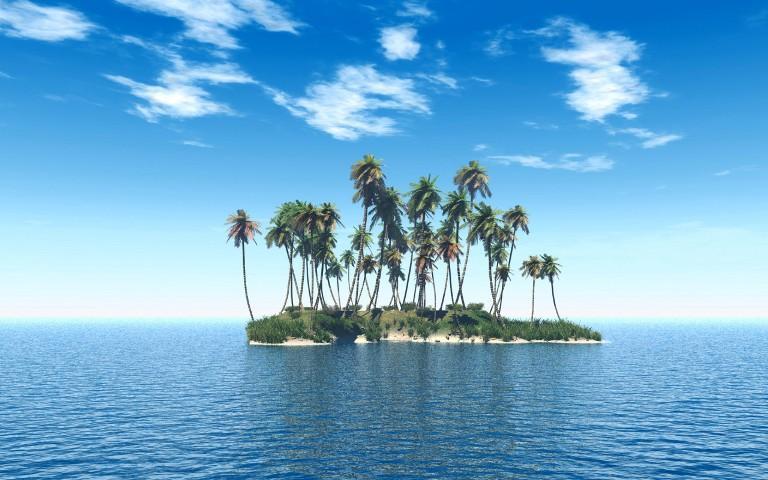 Таинственный и необитаемый остров - удивительные картинки 2