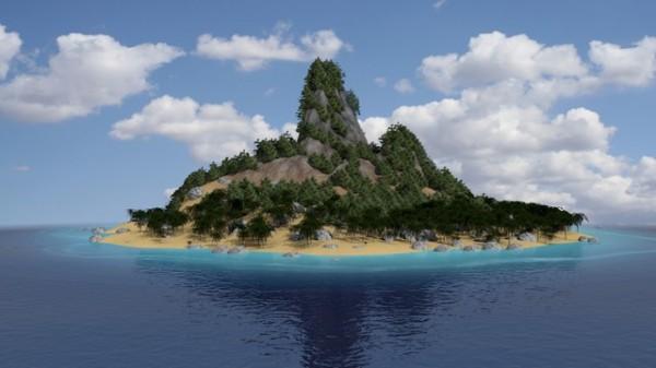 Таинственный и необитаемый остров - удивительные картинки 7