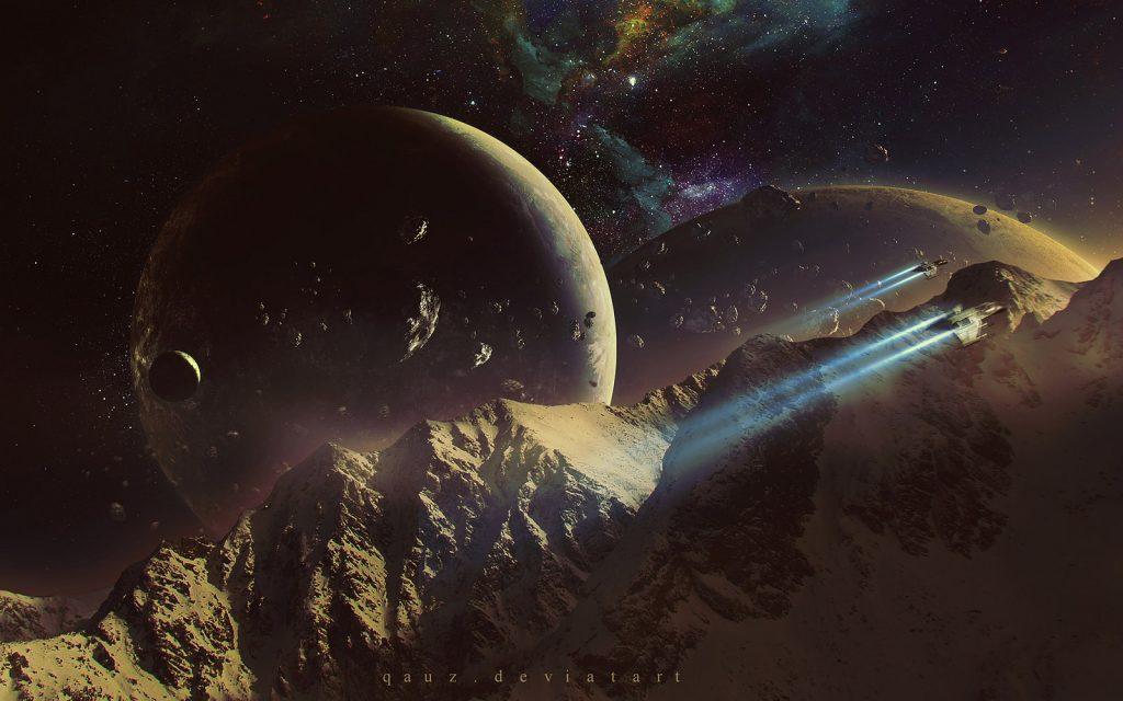 Космос красивые картинки и арты. Подборка ярких изображений 3