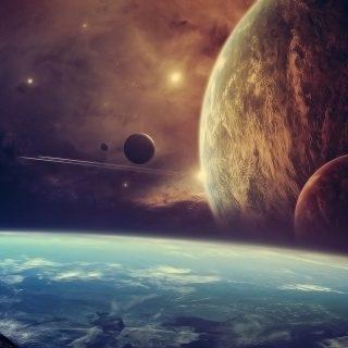 Космос красивые картинки и арты. Подборка ярких изображений 6