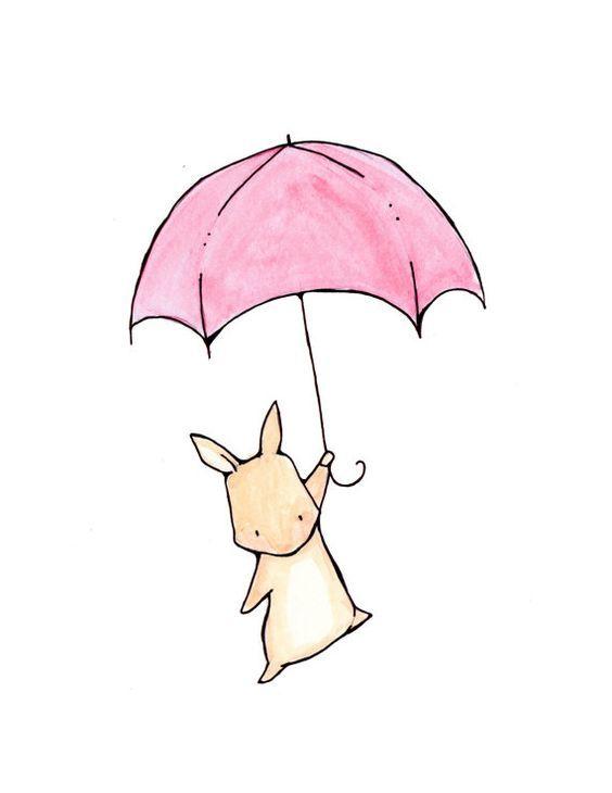 Красивые и простые рисунки, картинки кроликов для срисовки - сборка 10