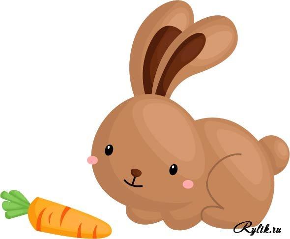 Красивые и простые рисунки, картинки кроликов для срисовки - сборка 14