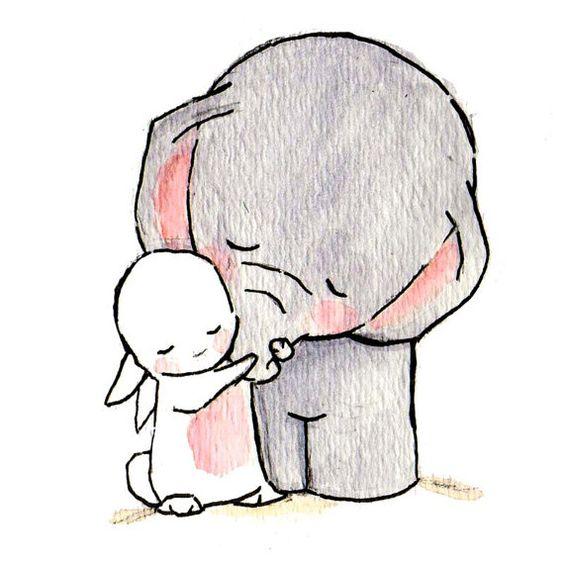 Красивые и простые рисунки, картинки кроликов для срисовки - сборка 18