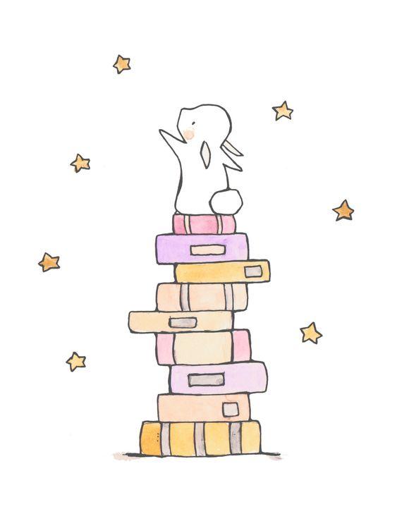 Красивые и простые рисунки, картинки кроликов для срисовки - сборка 4