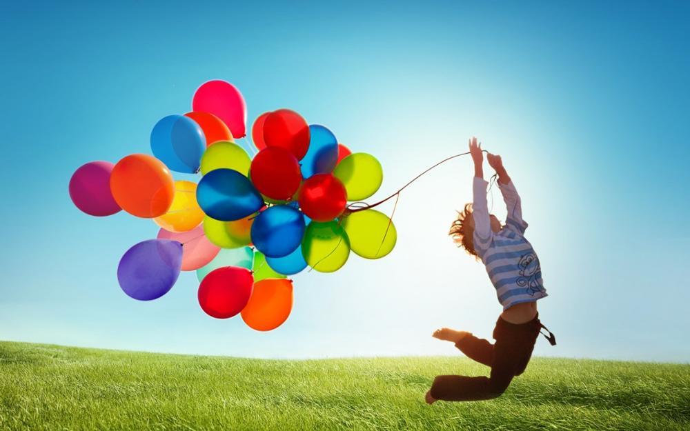 Красивые картинки Воздушные шарики - интересные обои, фото 13
