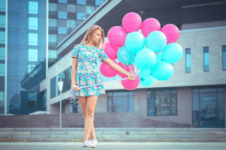 Красивые картинки Воздушные шарики - интересные обои, фото 2