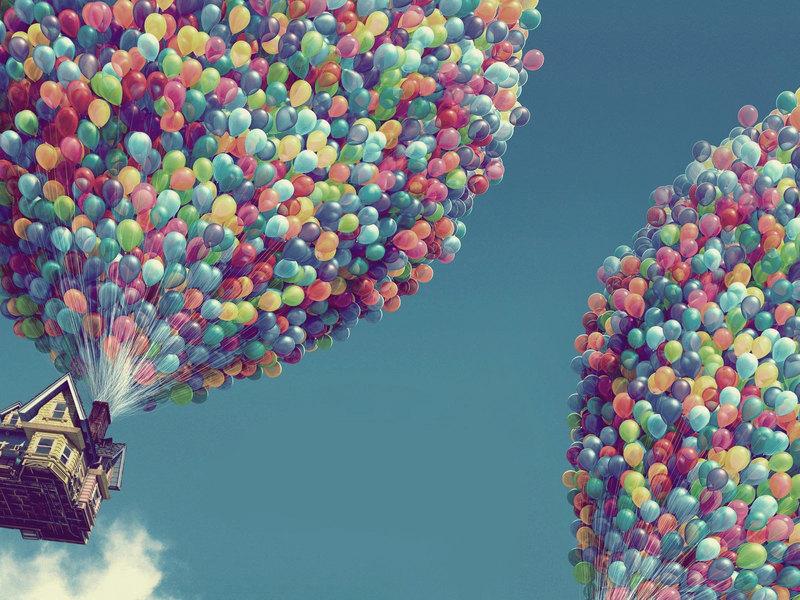 Красивые картинки Воздушные шарики - интересные обои, фото 3