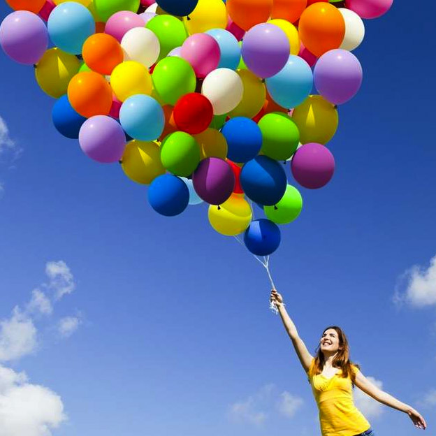 Красивые картинки Воздушные шарики - интересные обои, фото 6
