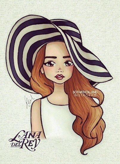 Красивые картинки и рисунки для срисовки лицо девушки - подборка 13