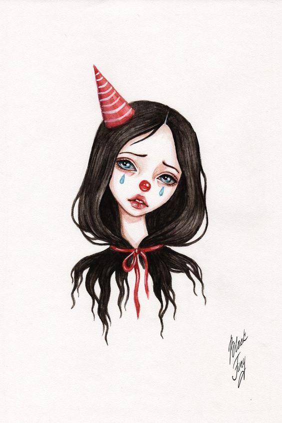 Красивые картинки и рисунки для срисовки лицо девушки - подборка 9