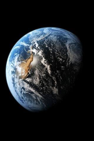Красивые картинки планеты Земля на телефон - сборка 1