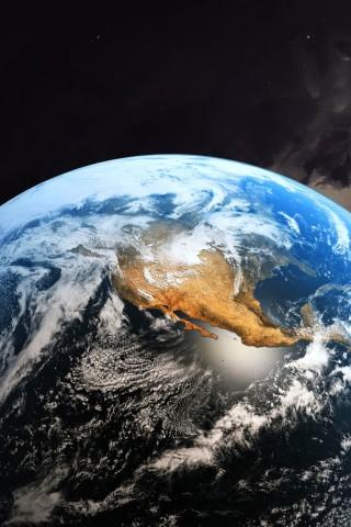 Красивые картинки планеты Земля на телефон - сборка 11