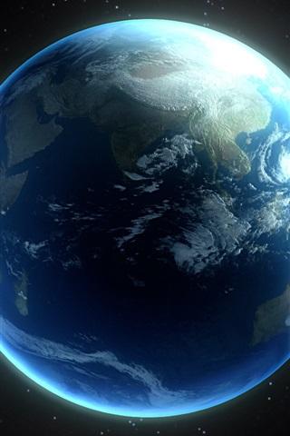 Красивые картинки планеты Земля на телефон - сборка 8