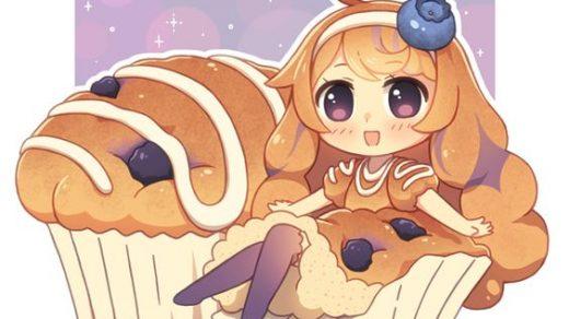 Няшные картинки сладости и десерты - картинки, рисунки для девочек 13