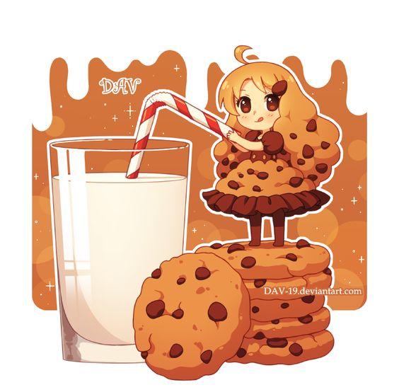 Няшные картинки сладости и десерты - картинки, рисунки для девочек 23