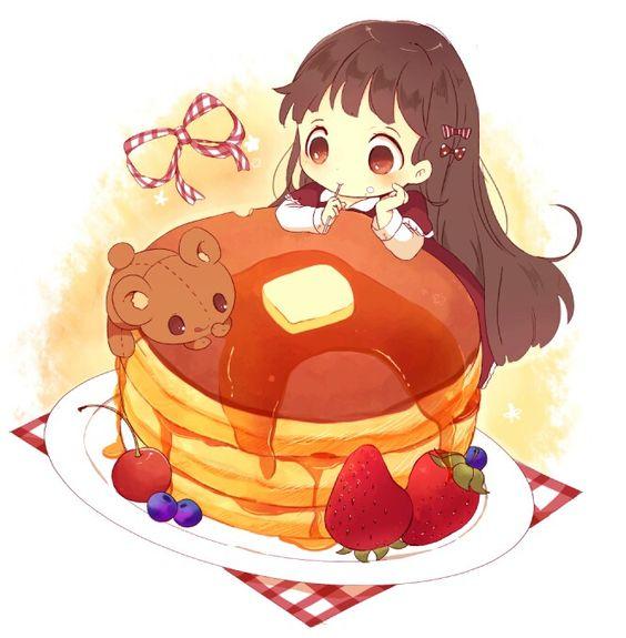 Няшные картинки сладости и десерты - картинки, рисунки для девочек 5