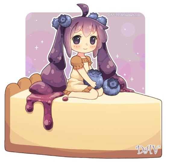 Няшные картинки сладости и десерты - картинки, рисунки для девочек 7