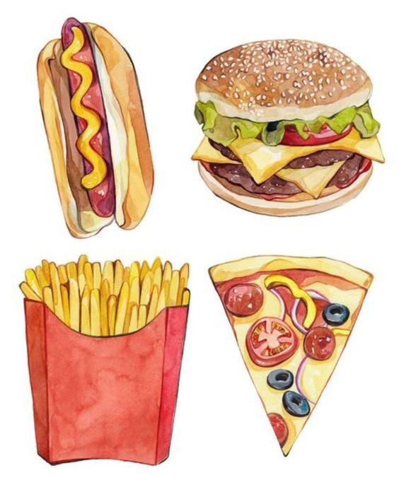 Прикольные и красивые арт-картинки сладостей и вкусностей - сборка 2