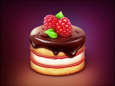 Прикольные и красивые арт-картинки сладостей и вкусностей - сборка 23
